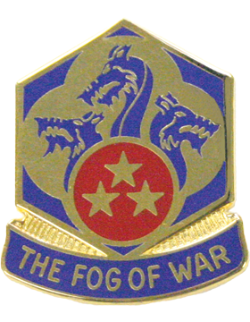 0155 Chemical Battalion Unit Crest (The Fog Of War)
