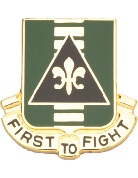 156th Armor Unit Crest (First To Fight)
