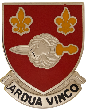 0176 Engineer Battalion Unit Crest (Ardua VInco)