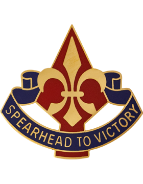 0177 Armored Bde Unit Crest (Spearhead To Victory)