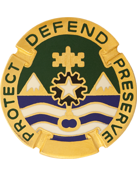 0177 MIlitary Police Bde Unit Crest (Protect Defend Preserve)