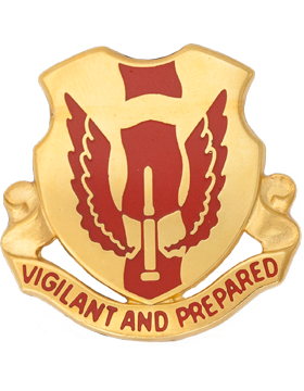 0177 Regiment Unit Crest (Vigilant And Prepared)