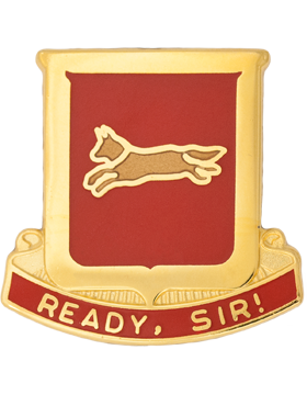 178th Engineer Battalion Unit Crest (Ready Sir)
