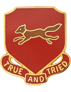 0178 Field Artillery Unit Crest (True And Tried)