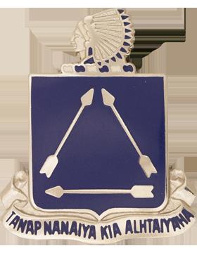 180th Infantry Battalion Unit Crest (Tanap Nanaiya Kia Alhtaiyaha)