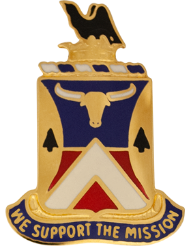 0181 Support Battalion Unit Crest (We Support The Mission)