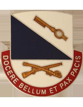 181st Infantry Brigade Unit Crest (Docere Bellum Et Pax Pacis)