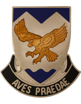 183rd Aviation Battalion Unit Crest (Aves Praedae)