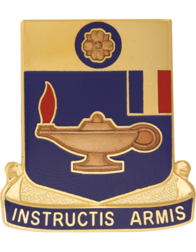 183rd Regiment Virginia Army National Gurad Unit Crest (Instructis Armis)
