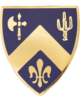 184th Infantry Unit Crest (No Motto)