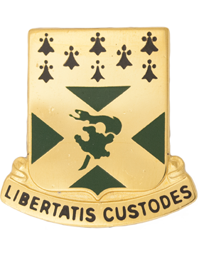 0201 Engineer Battalion KY ARNG Unit Crest (Libertatis Custodes)