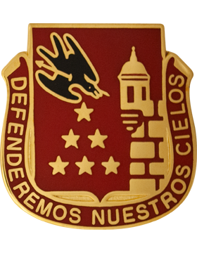 201st Regiment Unit Crest (Defenderemous Nuestrous Cielos)