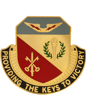 0201 Quartermaster Unit Crest (Providing The Keys To Victory)