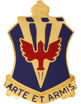 202nd Air Defense Artillery Battalion Unit Crest (Arte Et Armis)