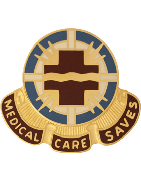 0202 Medical Group Unit Crest (Medical Care Saves)