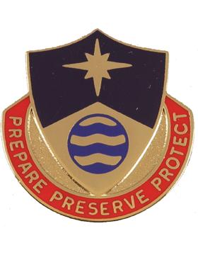 0203 Personnel Service Battalion Unit Crest (Prepare Preserve Protect)