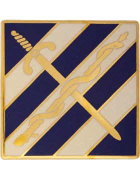 0203 Support Battalion Unit Crest (No Motto)