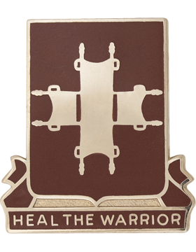 0204 Medical Battalion Unit Crest (Heal The Warrior)