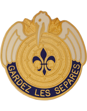204th Aviation Group Unit Crest (Gardez Les Separes)