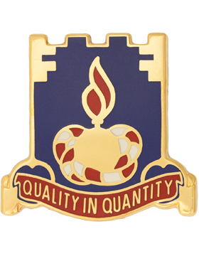 226th Support Group Unit Crest (Quality In Quantity)
