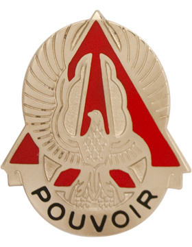 227th Aviation Battalion Unit Crest (Pouvoir)