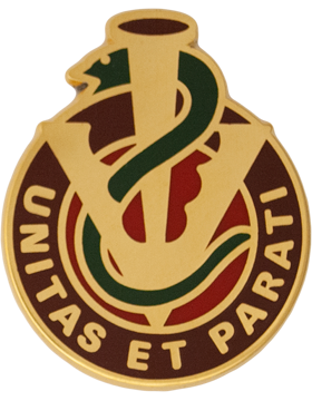 228th Combat Support Hospital Unit Crest (Unitas Et Parati)