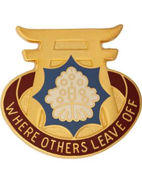 228th Support Battalion Unit Crest (Where Others Leave Off)