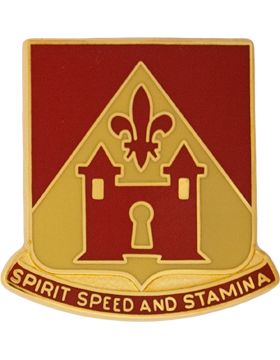 229th Field Artillery Unit Crest (Spirit Speed And Stamina)