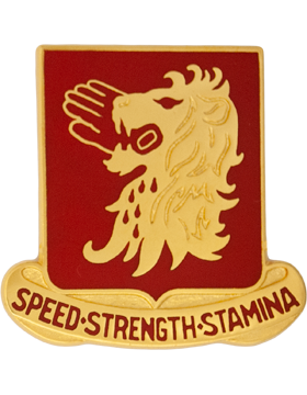 230th Cavalry Unit Crest (Speed Strength Stamina)