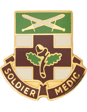 232nd Medical Battalion Unit Crest (Soldier Medic)