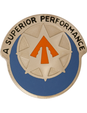 234th Signal Battalion Unit Crest (A Superior Performance)