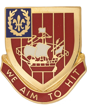 251st Air Defense Artillery Unit Crest (We AIm To Hit)
