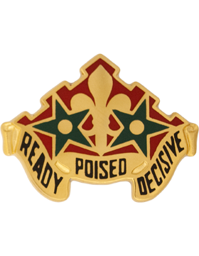 252nd Armor Unit Crest (Ready Poised Decisive)