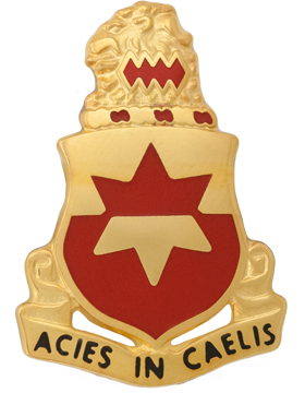 254th Regiment Unit Crest (Acies In Caelis)