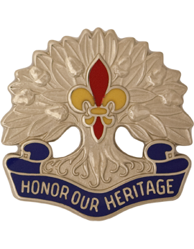 256th Infantry Brigade Unit Crest (Honor Our Heritage)