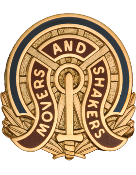 257th Transportation Battalion Unit Crest (Movers And Shakers)