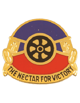 260th Quartermaster Unit Crest (The Nectar For Victory)