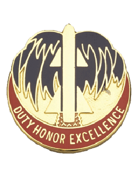 263rd Air Defense Artillery Brigade Unit Crest (Duty Honor Excellence)