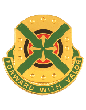 264th Engineer Group Unit Crest (Forward With Valor)