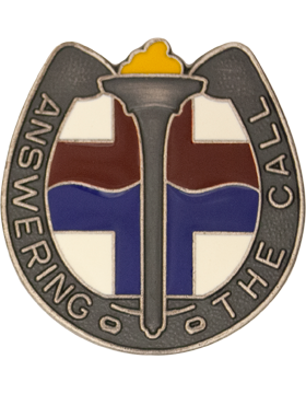 264th Medical Battalion Unit Crest (Answering The Call)
