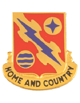265th Air Defense Artillery Unit Crest (Home And Country)