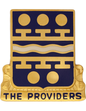 266th Quartermaster Battalion Unit Crest (The Providers)