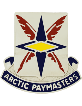 267th FIinance Battalion Unit Crest (Artic Paymasters)