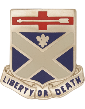 0276 Engineer Battalion Unit Crest (Liberty Or Death)