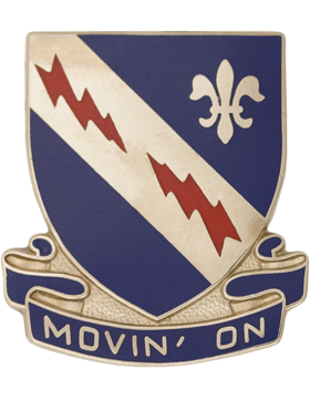 0279 Infantry Unit Crest (Movin' On)