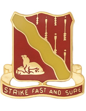 0279 Signal Battalion Unit Crest (Strike Fast And Sure)