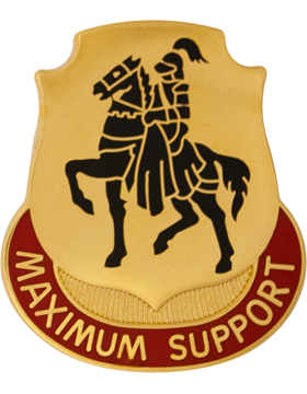 0279 Support Battalion Unit Crest (Maximum Support)