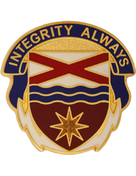 0279 Support Brigade Unit Crest (Integrity Always)
