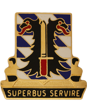 0280 Support Battalion Unit Crest (Superbus Service)