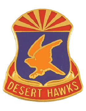 0285 Aviation Regiment Unit Crest (Desert Hawks)